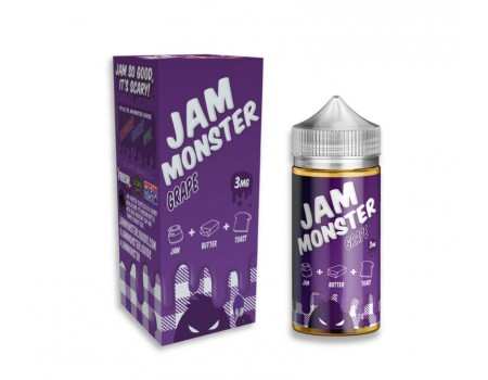 JAM Monster | Grape + Cotton Bacon v2